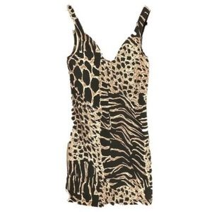 NWT Revolve animal print bodycon dress